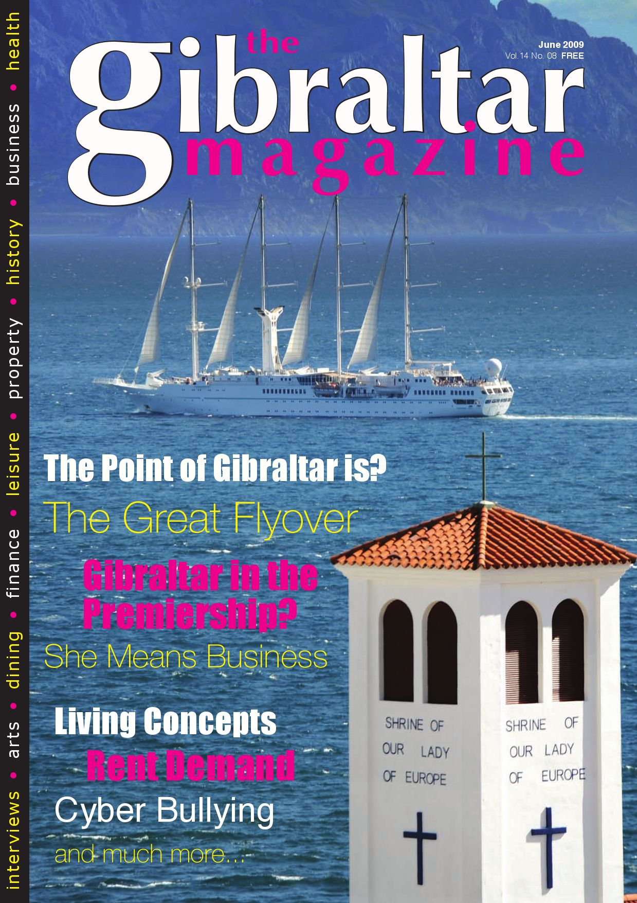 The Gibraltar Magazine June 09 — online edition by Rock Publishing ...