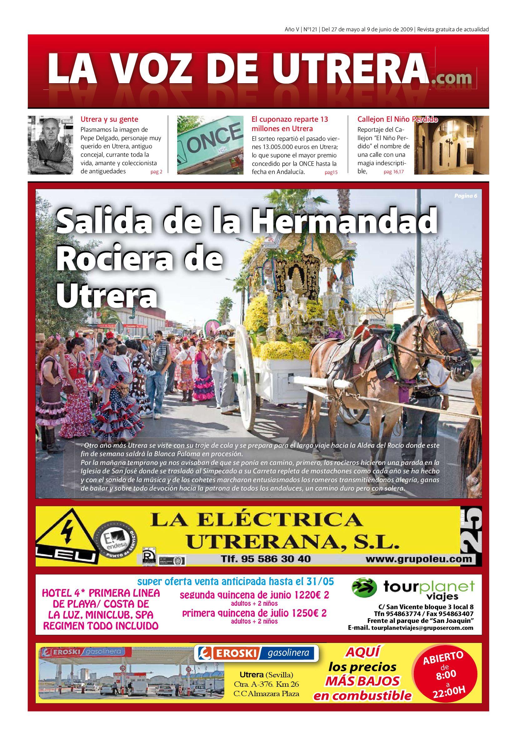 d991374accd2 La Voz de Utrera, 121 by Andrés Amarillo - issuu