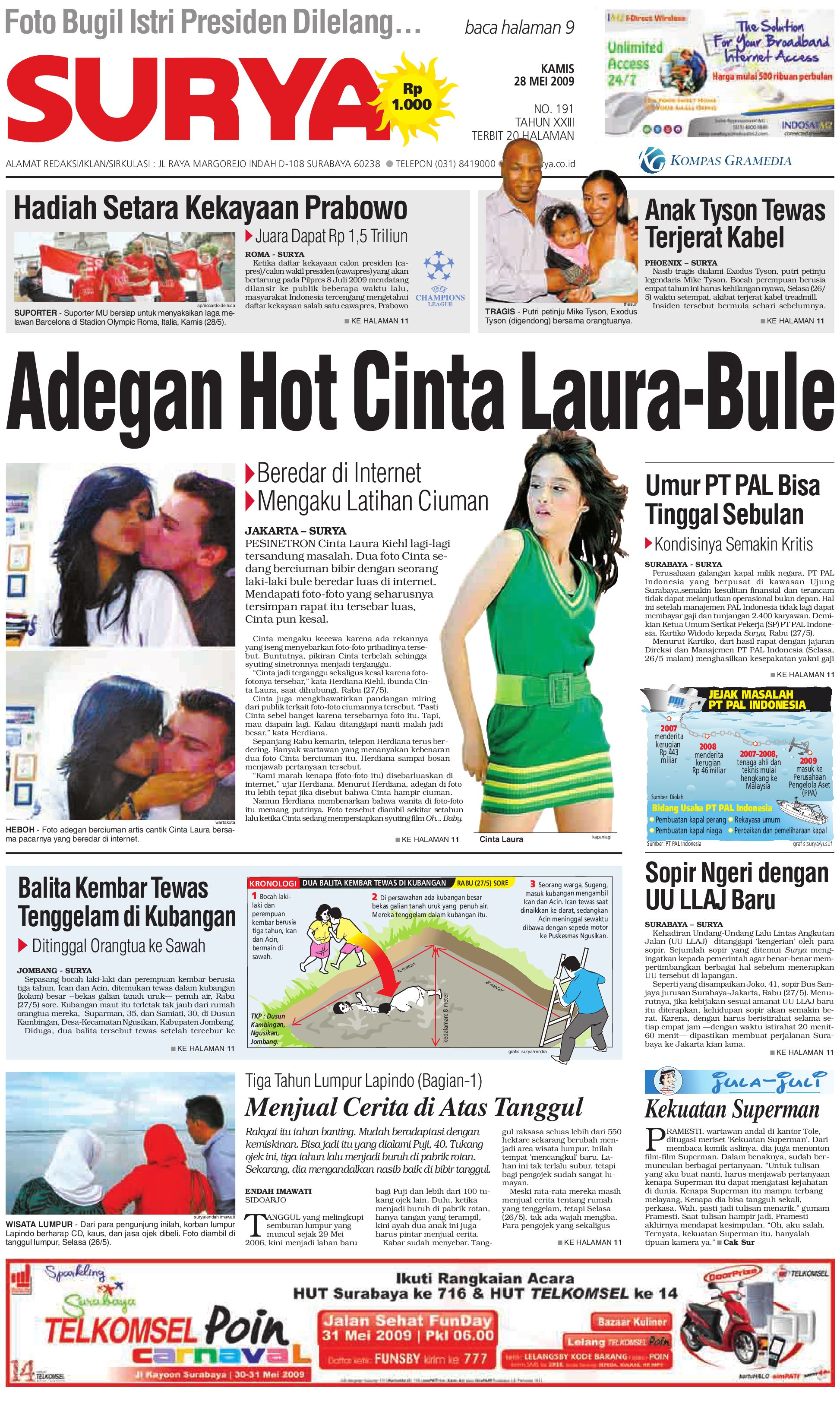 Surya Edisi Cetak 27 Mei 2009 By Harian Issuu Produk Ukm Bumn Tas Phiton Kembang Orchid