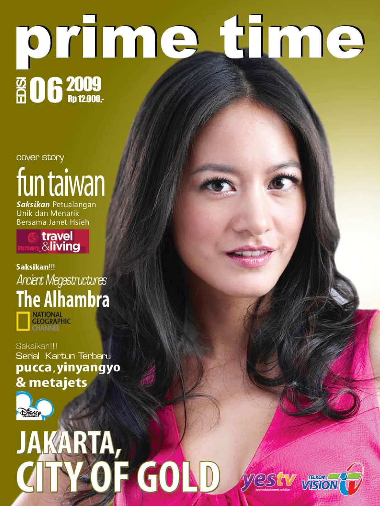 Juni 2009 Primetime Telkomvision By Indonusa Telemedia Issuu Wanita Cantik Katun Hitam Rok 05