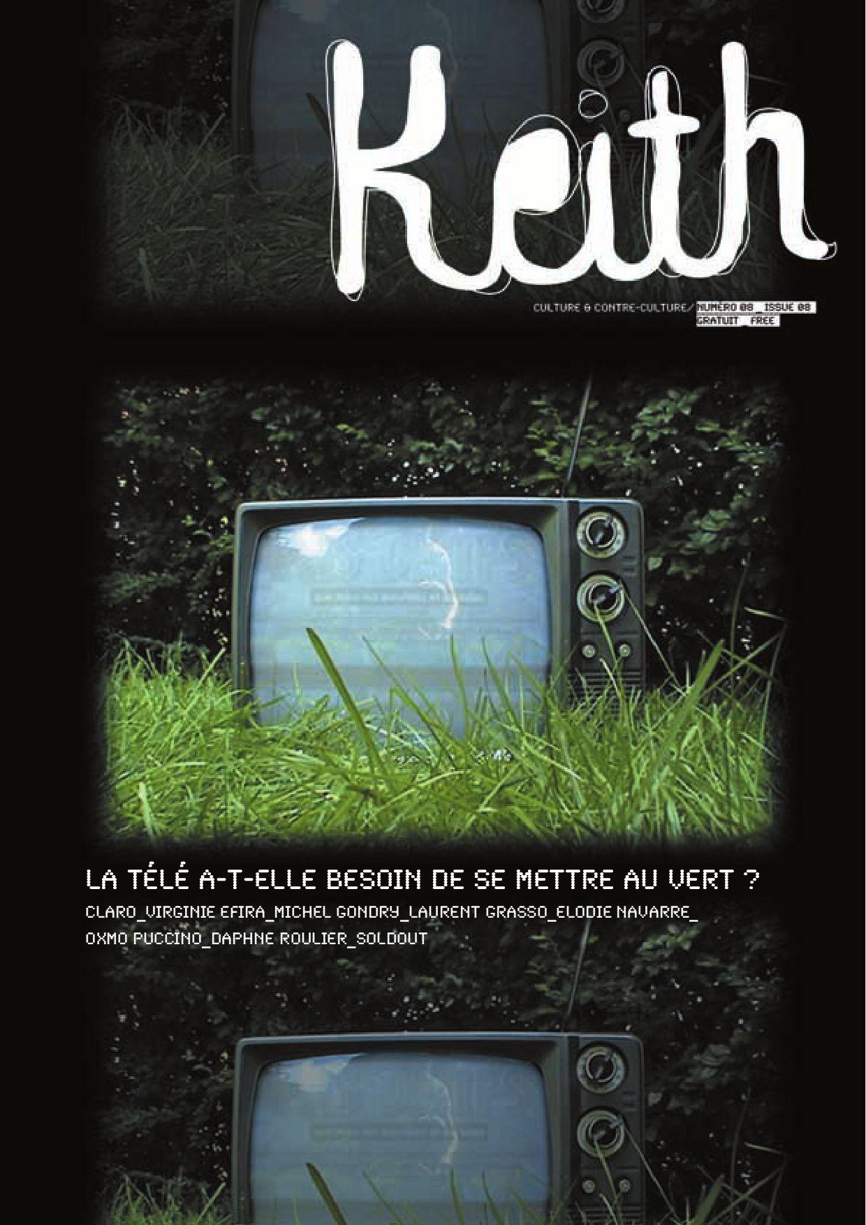 Keith N8 Television By Julien Crouigneau Issuu