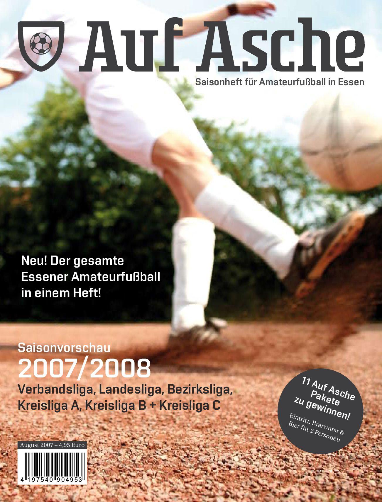 Auf Asche Magazin Fur Amateurfussball In Essen Nr 01