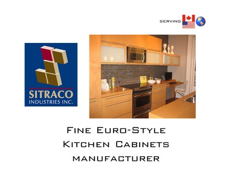 Sitraco industries inc by said tadjer issuu for Kitchen cabinets jersey city