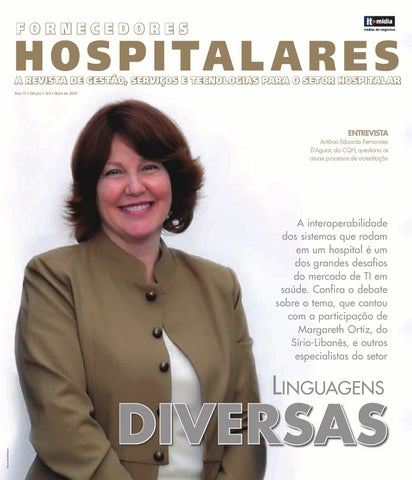 Fornecedores Hospitares - Ed  163 by IT Mídia - issuu