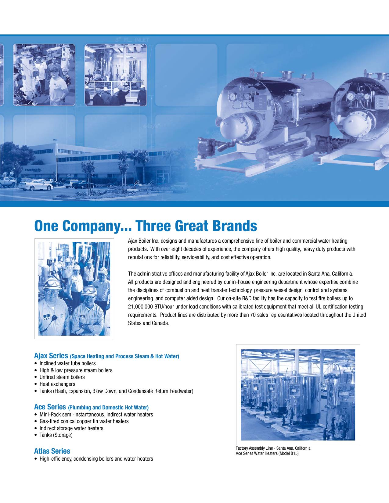 2009 Product Catalog: Ace Series by Ajax Boiler Inc. - issuu