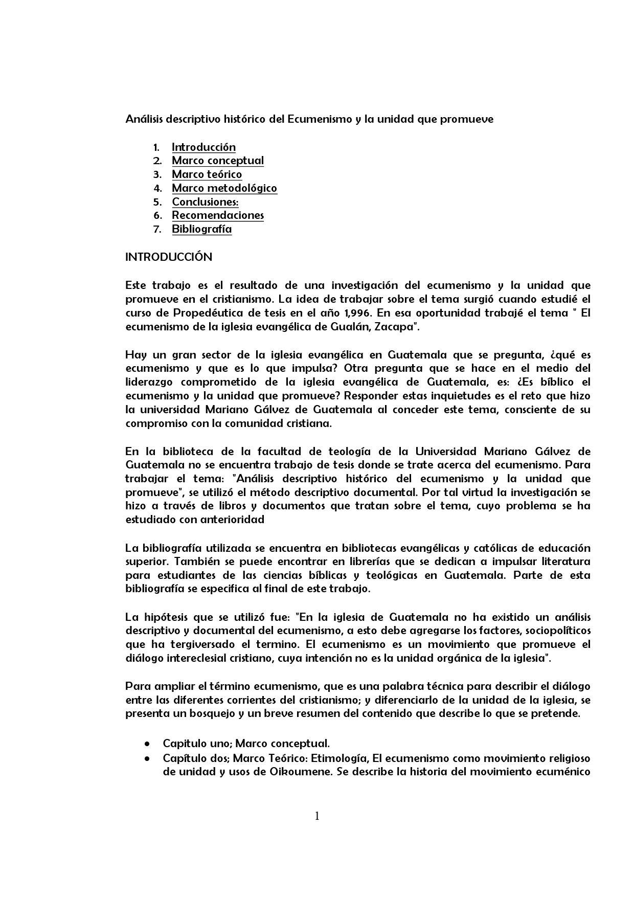 El Ecumenismo Como Movimiento Religioso de Unidad Cristiana by ...