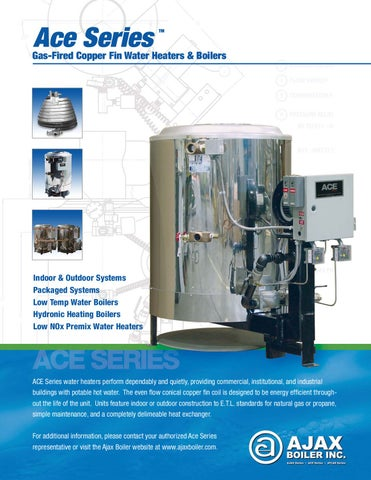 Sales Sheet: Water Heaters
