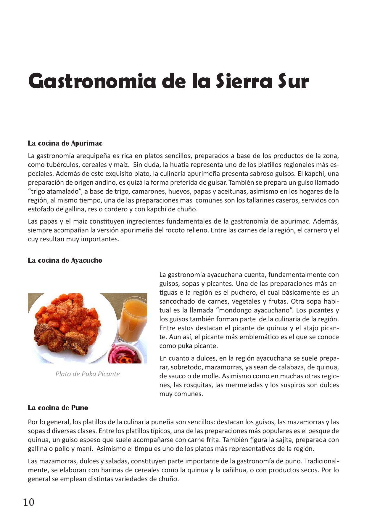 La Cocina del Sur del Perú by Carolina Medina - Issuu