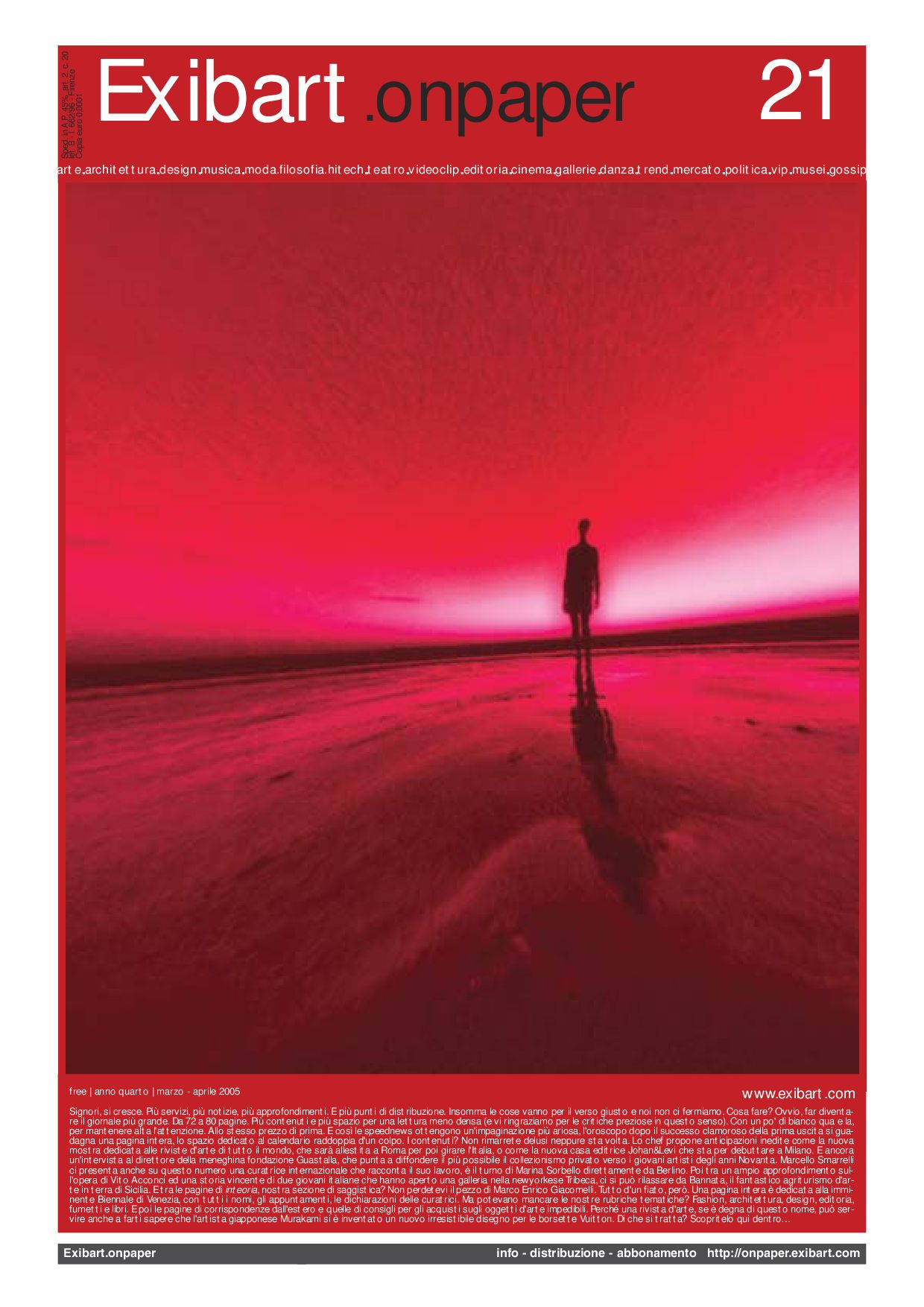 online retailer 36390 a48dc Exibart.onpaper n.21 by Exibart srl - issuu