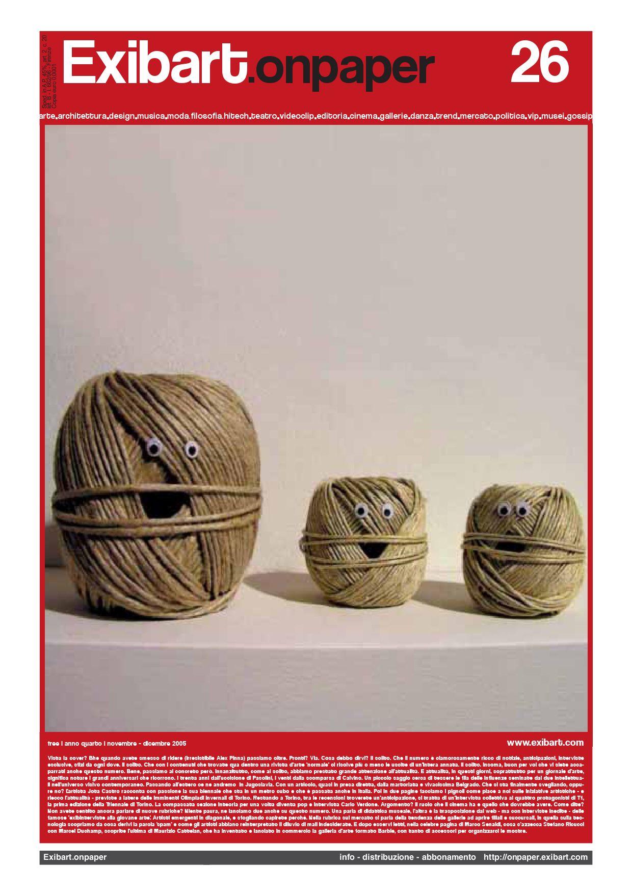 Exibart.onpaper n.26 by Exibart srl - issuu a01d0f456adf