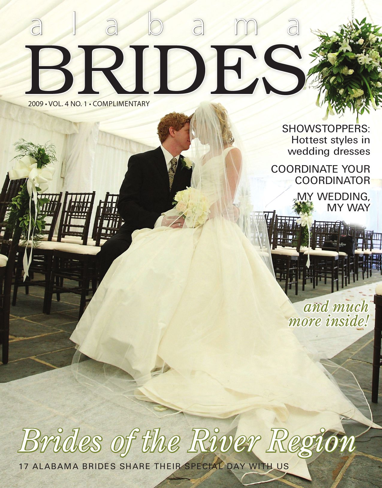 Alabama brides spring 2009 by montgomery advertiser issuu for Wedding dresses montgomery al