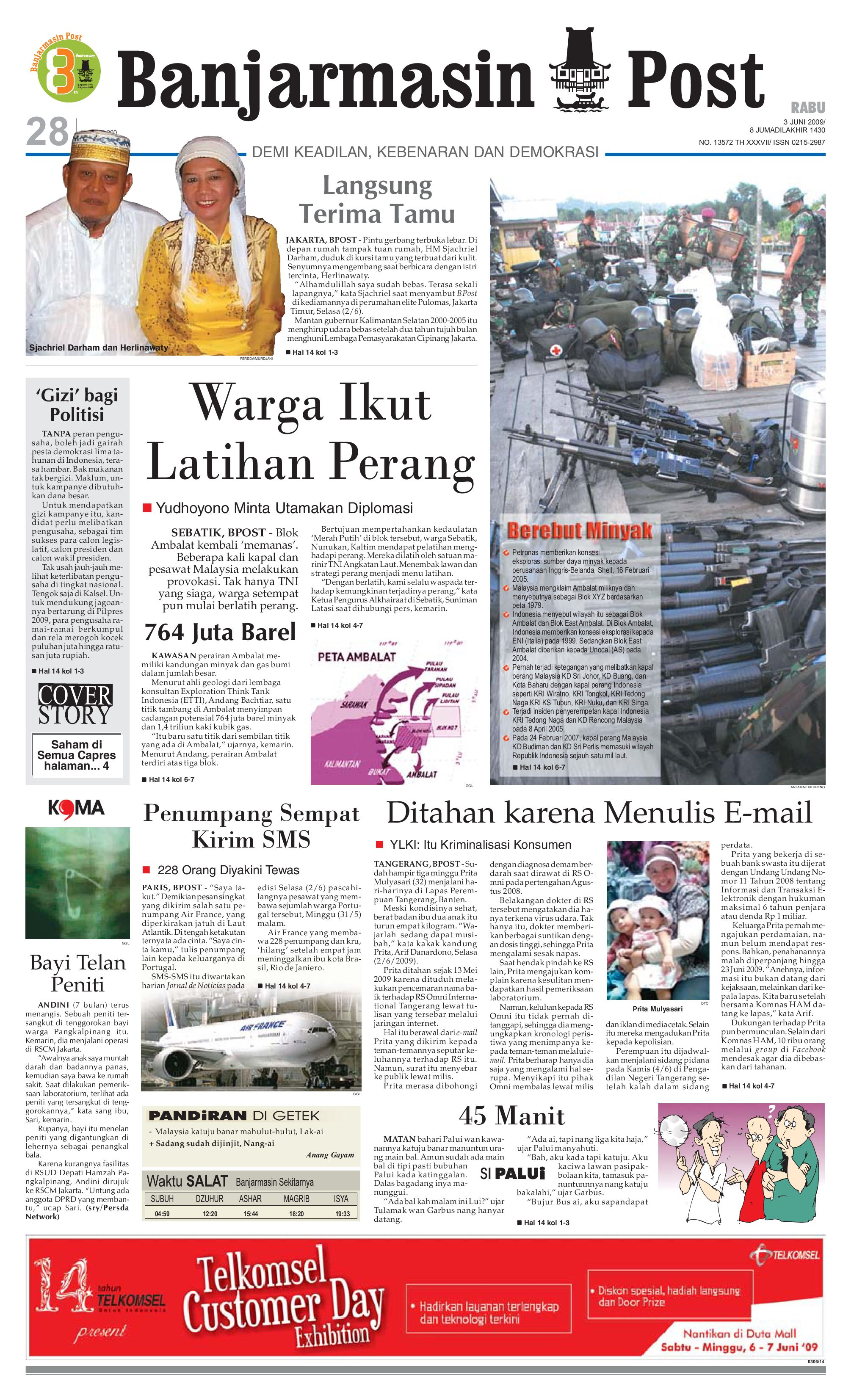 Banjarmasin Post Edisi Rabu 3 Juni 2009 By Issuu Tcash Vaganza 28 Vr Box Case Virtual Reality Glasses V 20