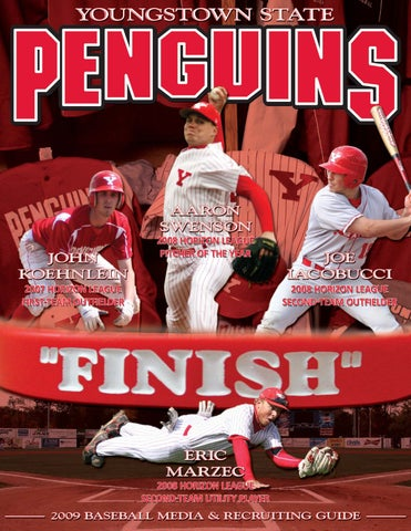 Youngstown State 2009 Baseball Media Guide By