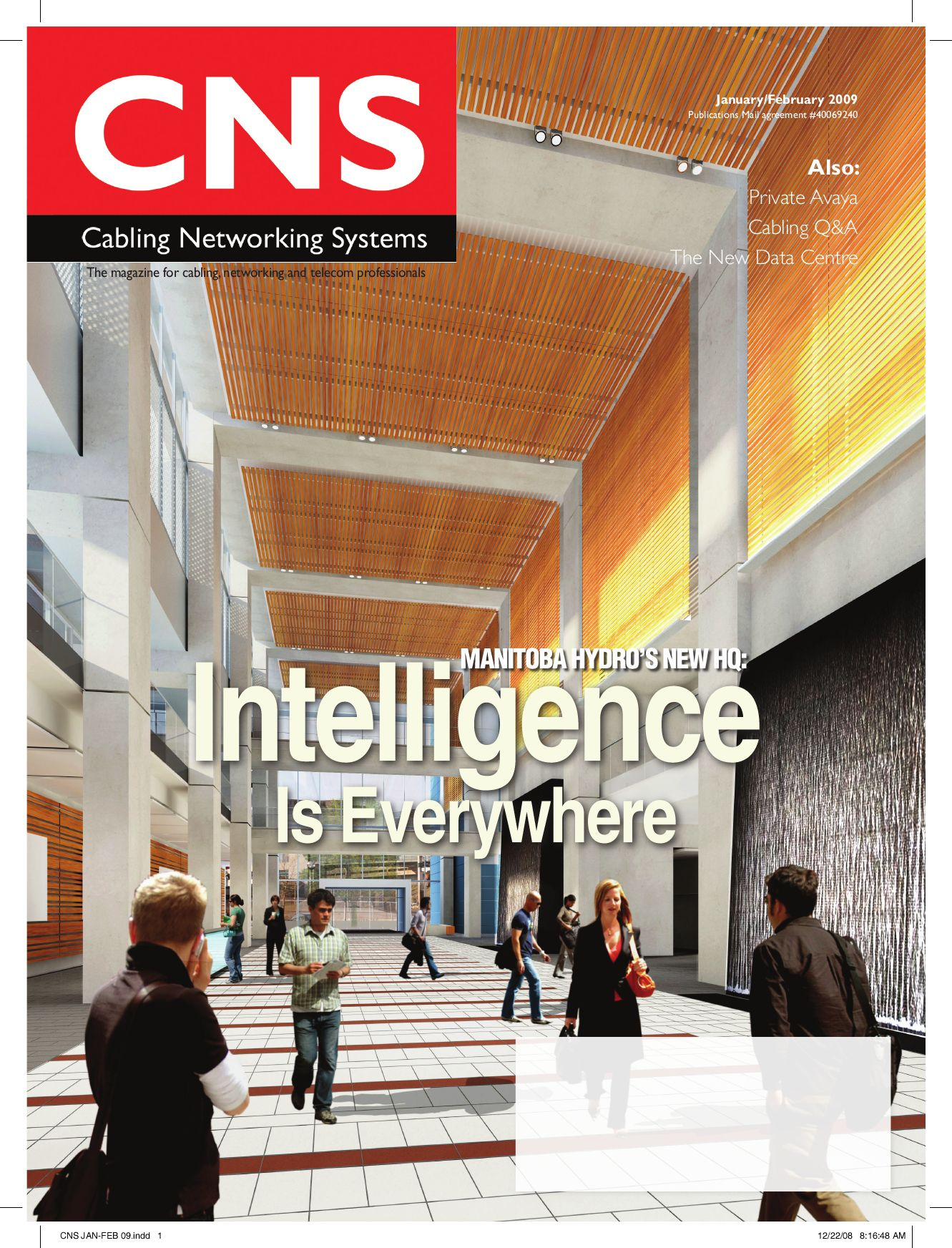 Cabling Networking Systems January/February 2009 by Annex Business