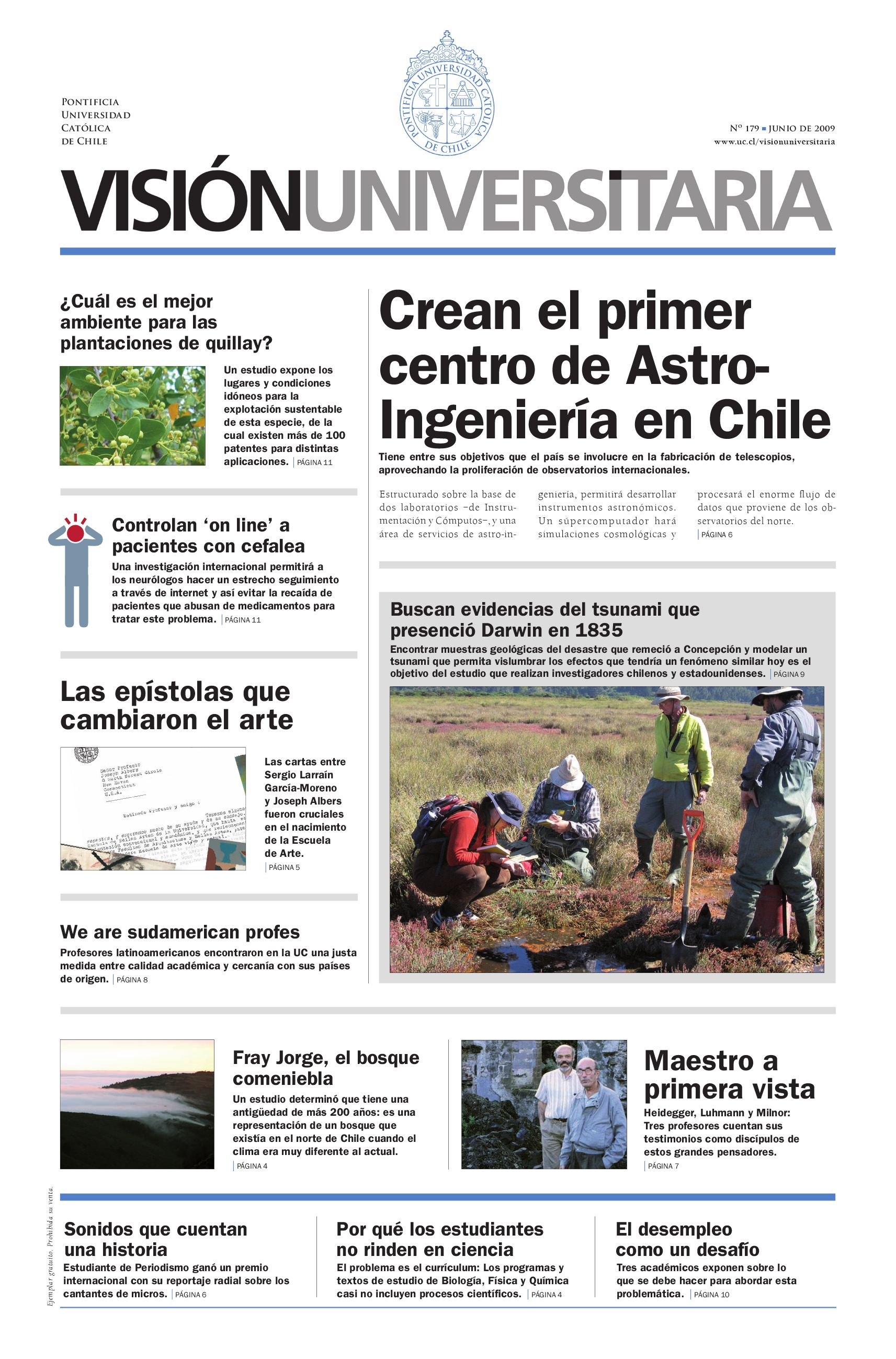Visión Universitaria Nº179 by Publicaciones UC - issuu