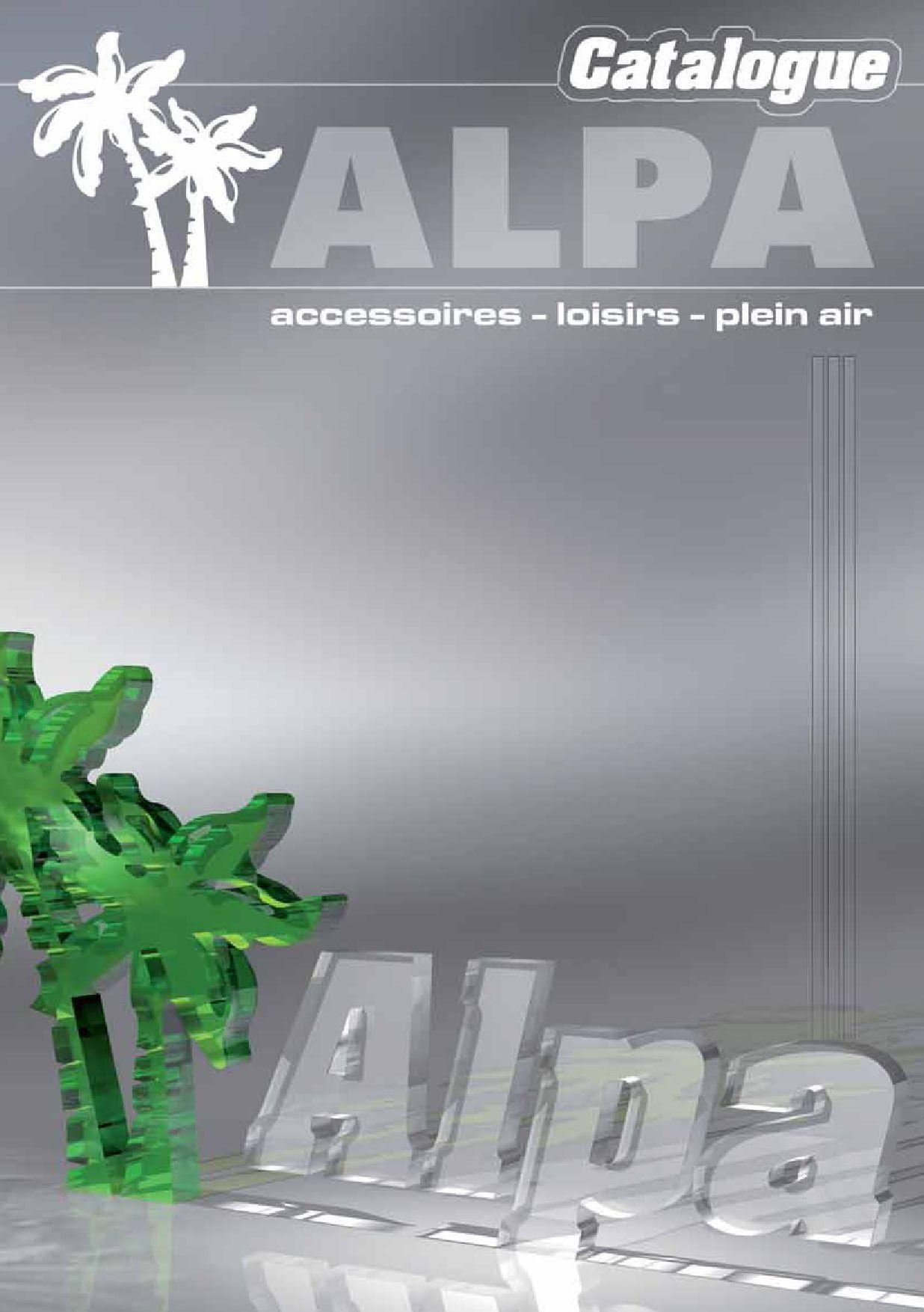 Catalogue ALPA 2009 by LOIC PIOT issuu