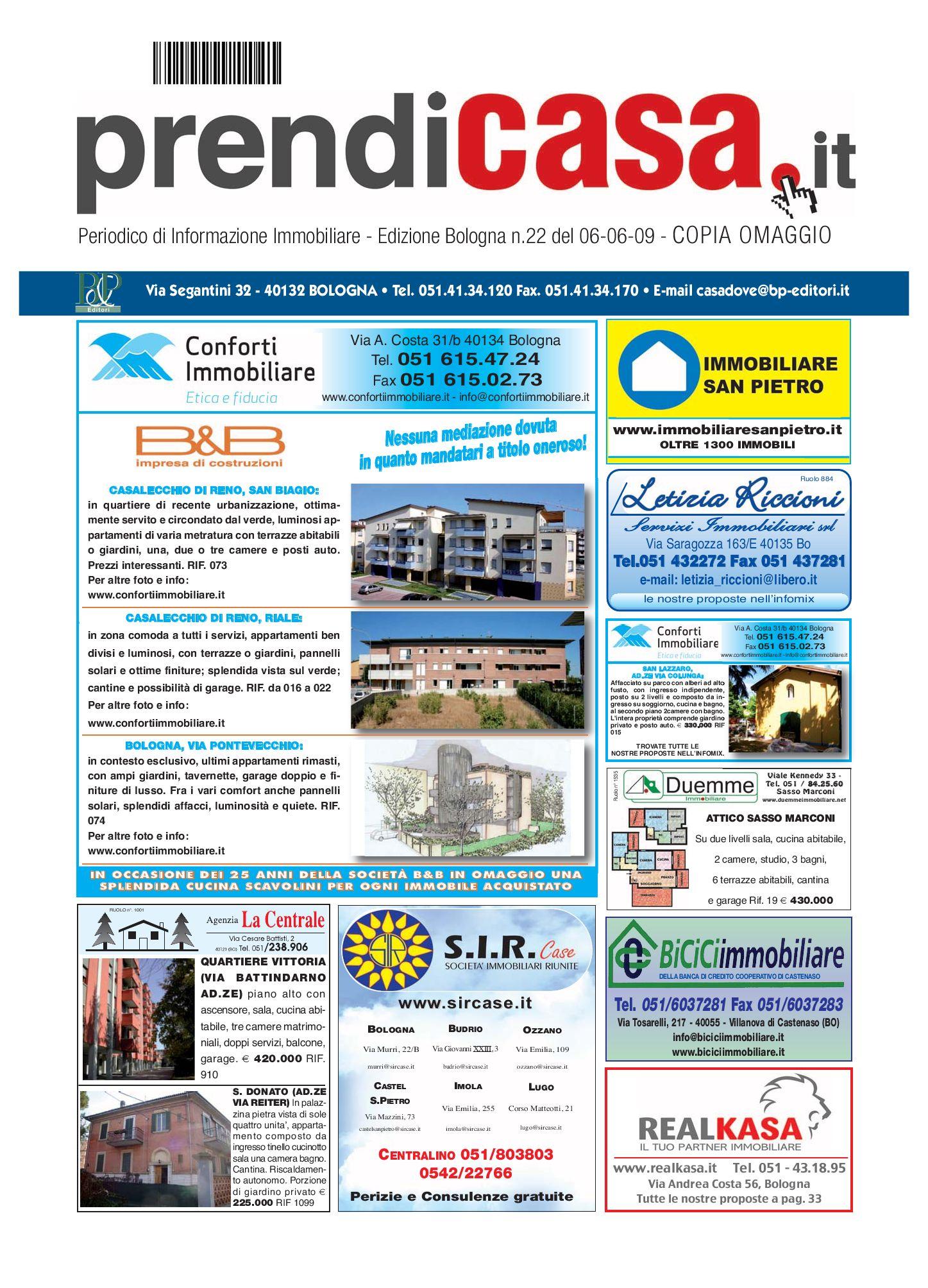 Prendicasa Bologna By B P Editori Issuu