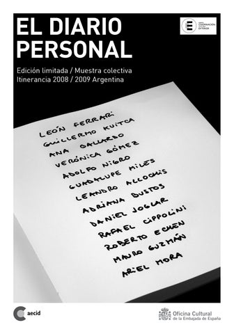El diario personal by mariusestudio - issuu