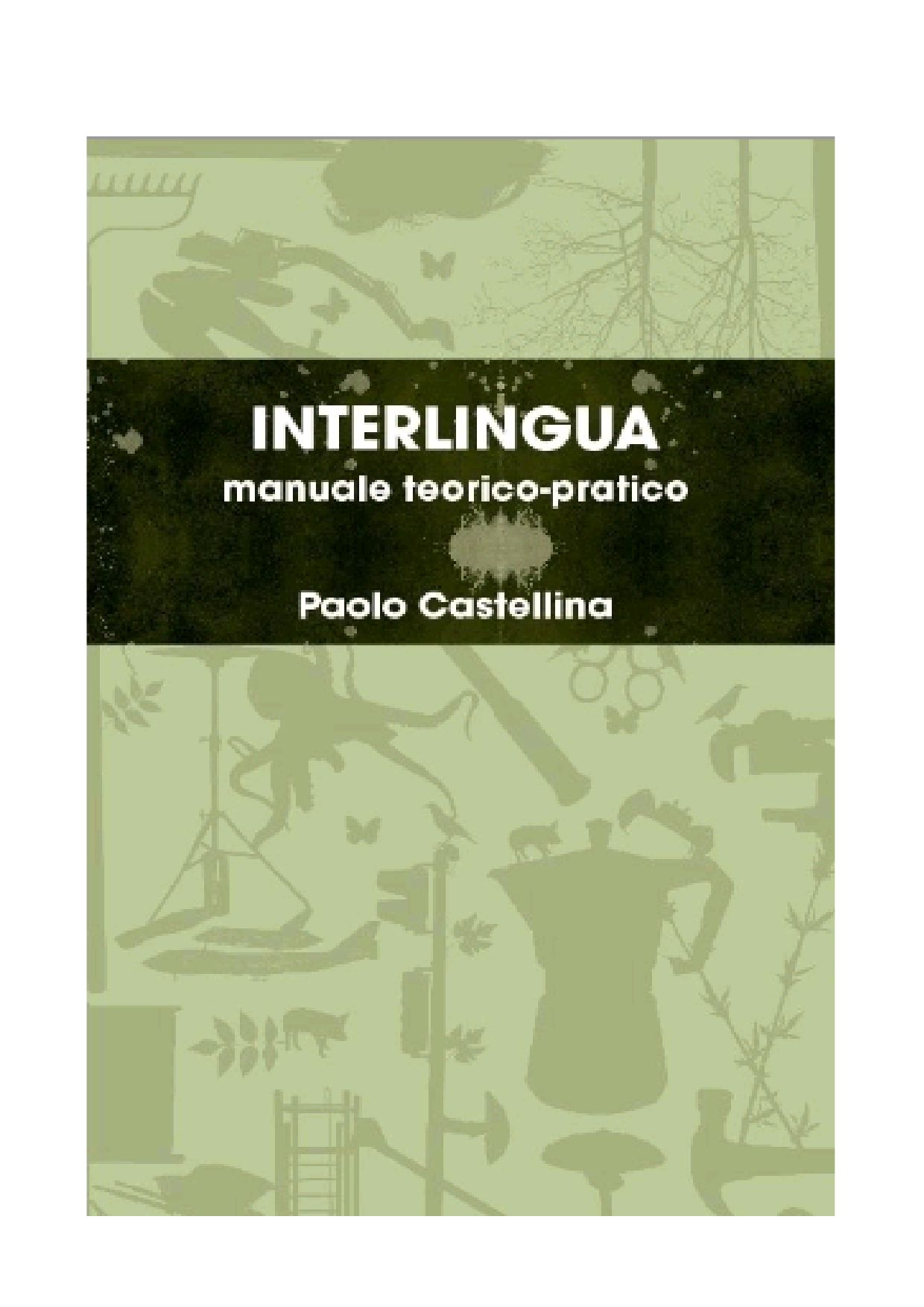 Interlingua by Paolo Castellina - issuu