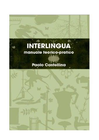 Interlingua By Paolo Castellina Issuu