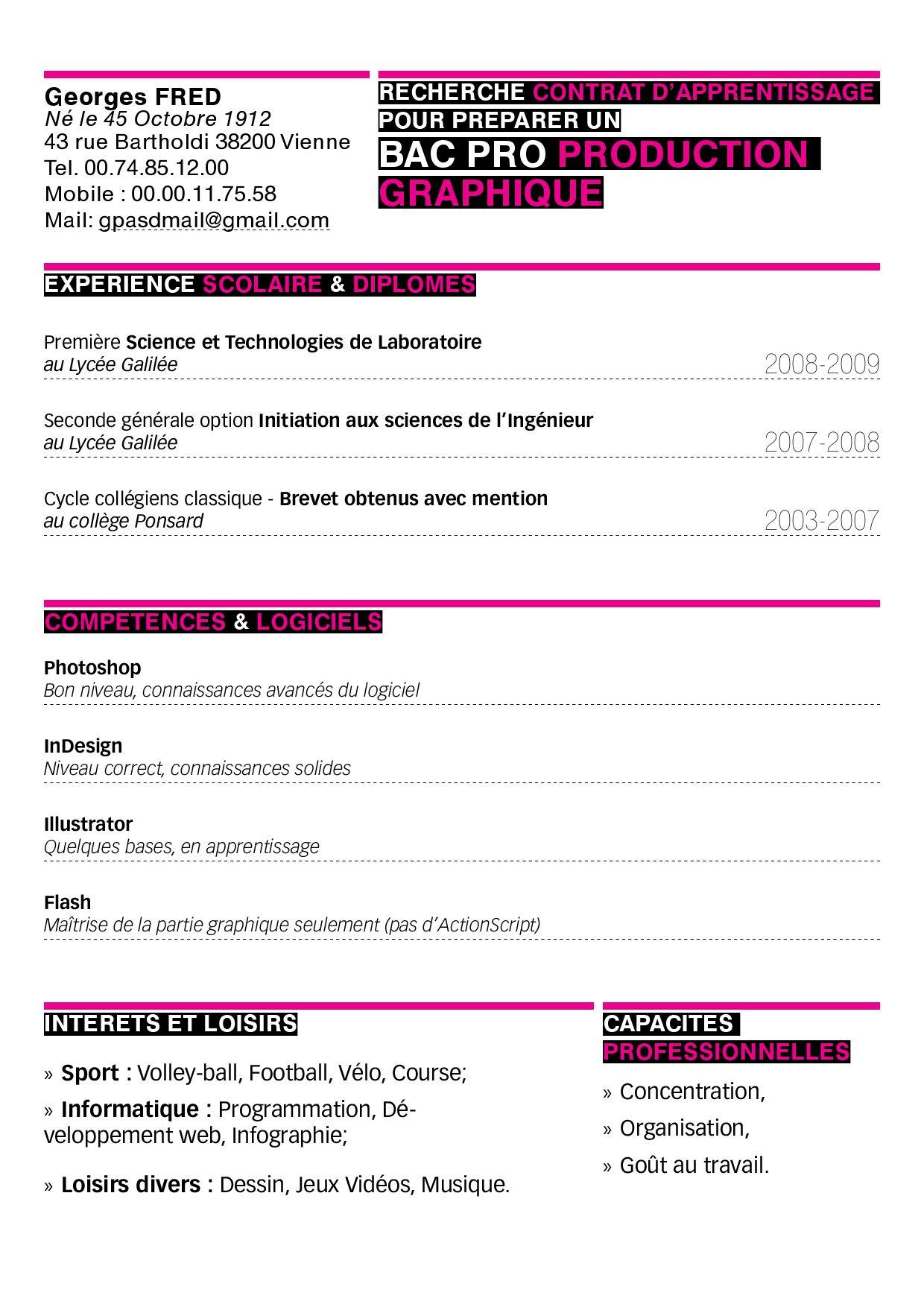 cv graphique by l u0026 39 eden numerique