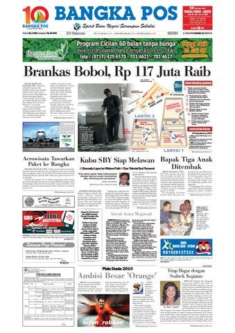 Harian Pagi Bangka Pos Edisi 08 Juni 2009 by bangka pos - issuu 2983a39114