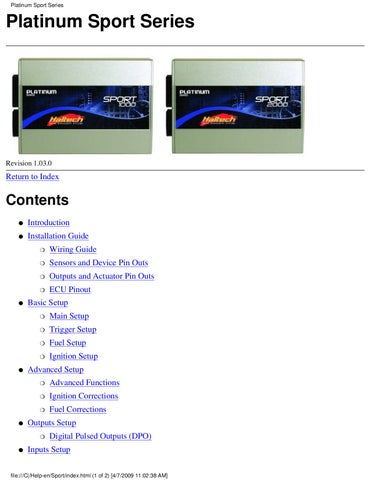 page_1_thumb_large haltech platinum sport manual by mike roberts issuu haltech e8 wiring diagram at bayanpartner.co