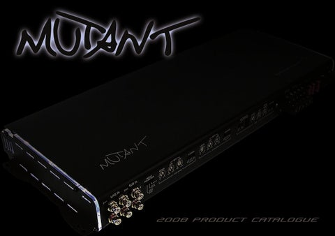 mutant 2008 brochure by talk audio online issuu the mutant car audio range caters for everyone at every level our products evolve and mutate your ever changing audio needs