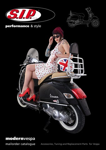 SIP Modern Vespa Catalogue english by SIP Scootershop GmbH - issuu
