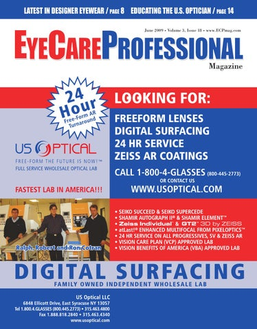 929815d2bd EyeCare Professional June 2009 Issue by ECP Magazine - issuu