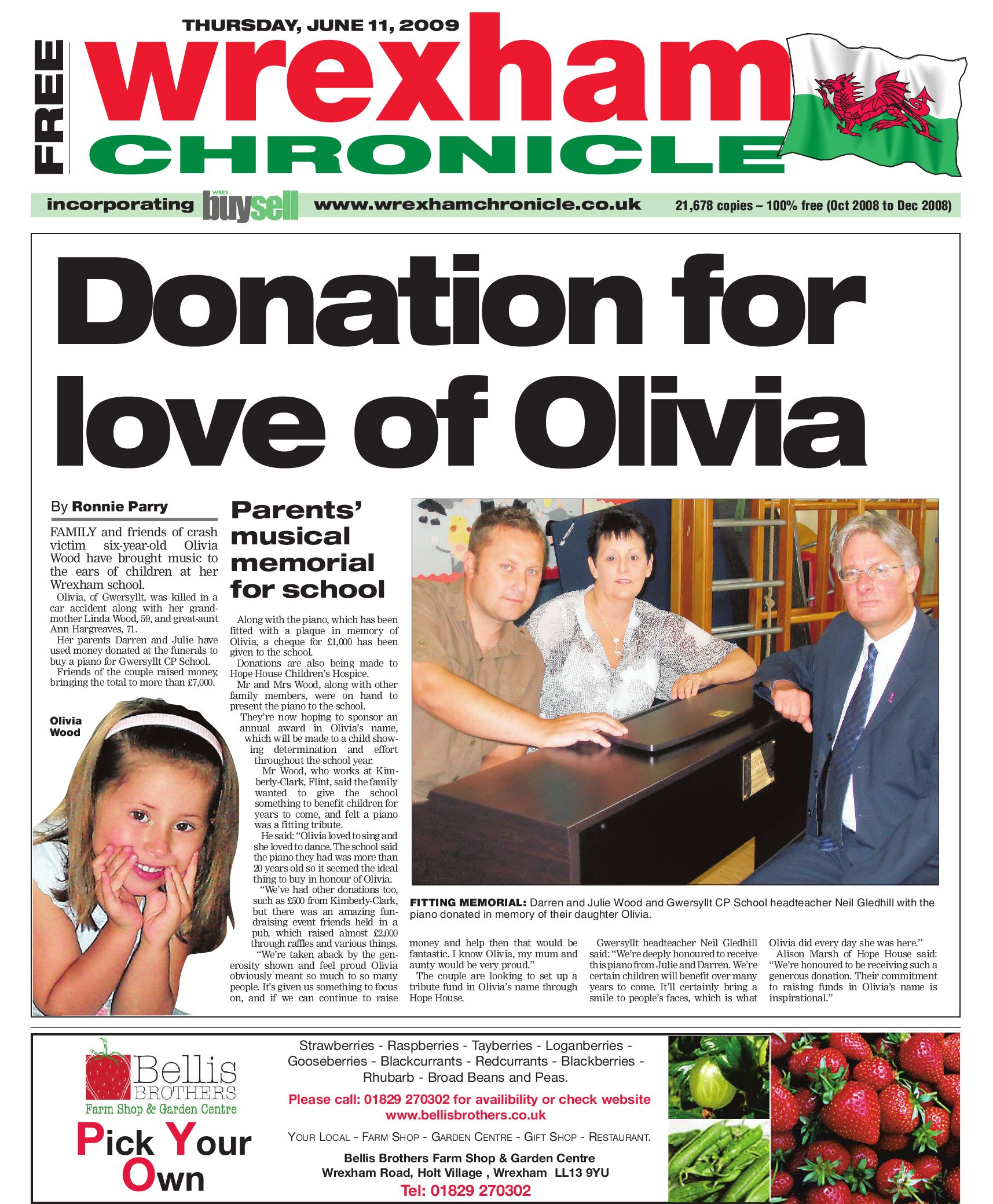 Wrexham Chronicle 11 6 09 By James Shepherd Issuu