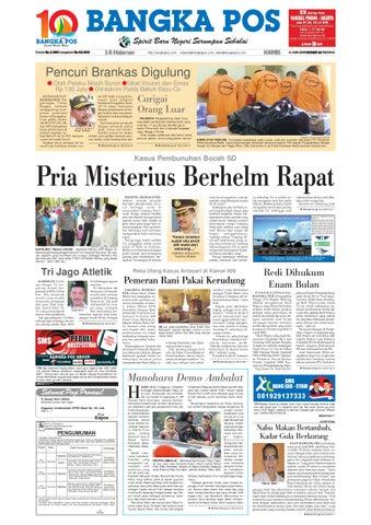 Harian Pagi Bangka Pos Edisi 11 Juni 2009 by bangka pos - issuu bcf14c4b0d