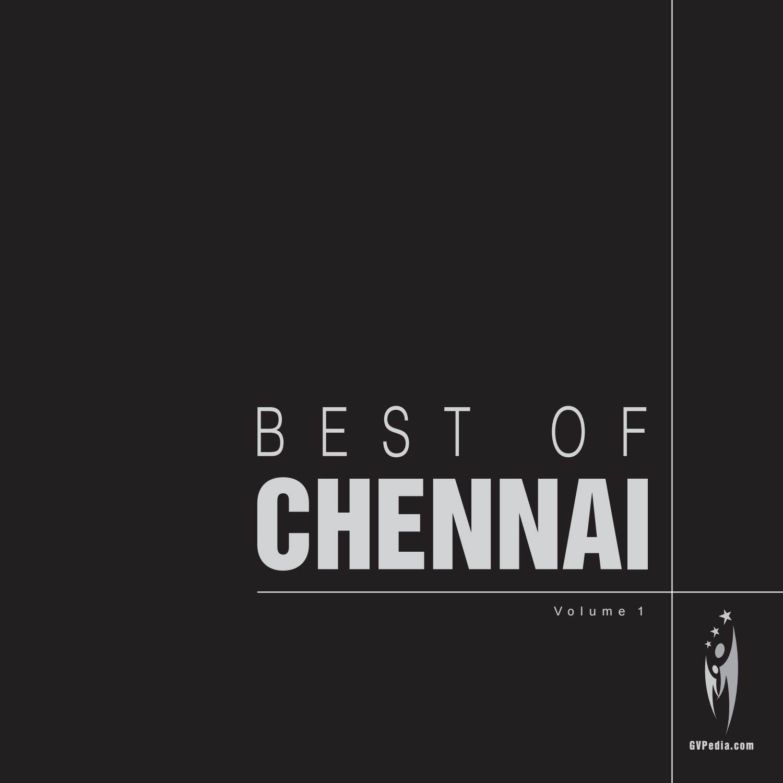 Best Of Chennai Volume 1