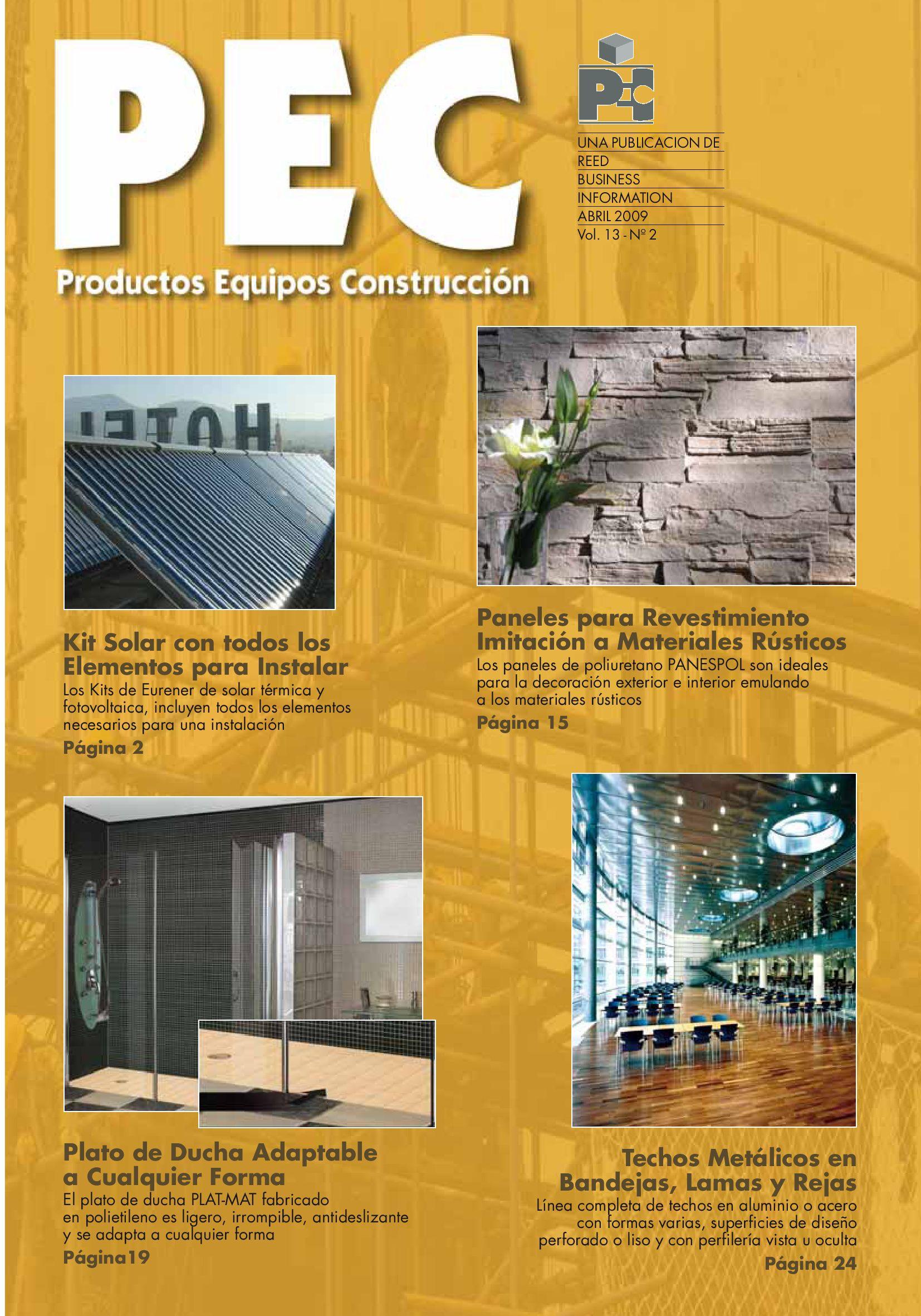 Productos Equipos Construcción by Arte Cemento - issuu
