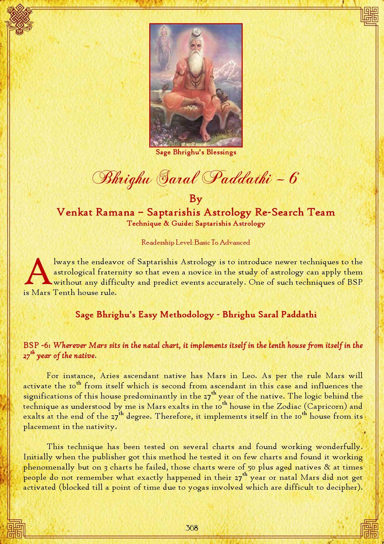 Microsoft Word - 35-Bhrighu Saral Paddathi – 6 by Saptarishis