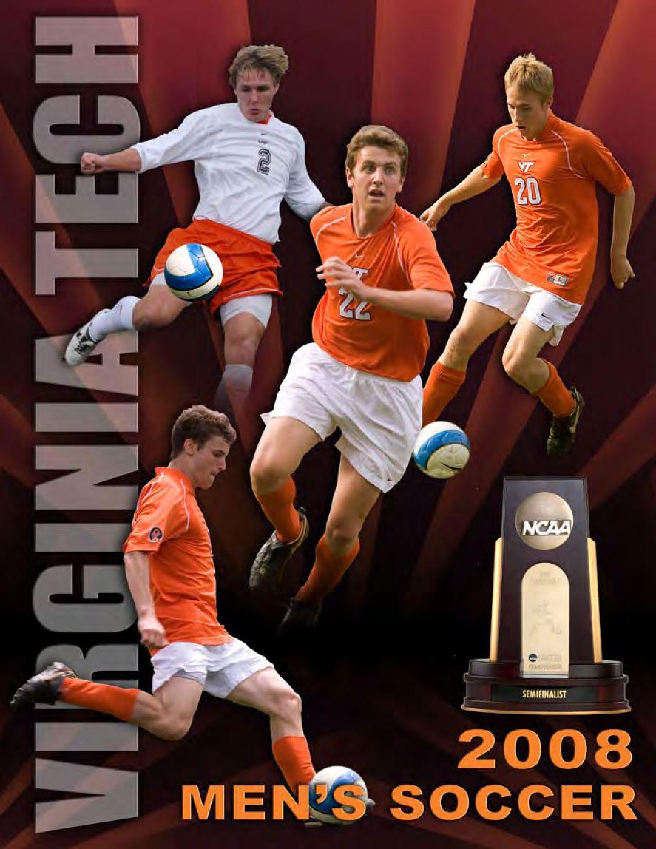 2008 Virginia Tech Men S Soccer Media Guide By Virginia Tech Athletics Issuu