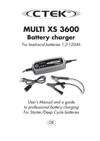 ctek xs3600 charger user manual by talk audio online issuu. Black Bedroom Furniture Sets. Home Design Ideas