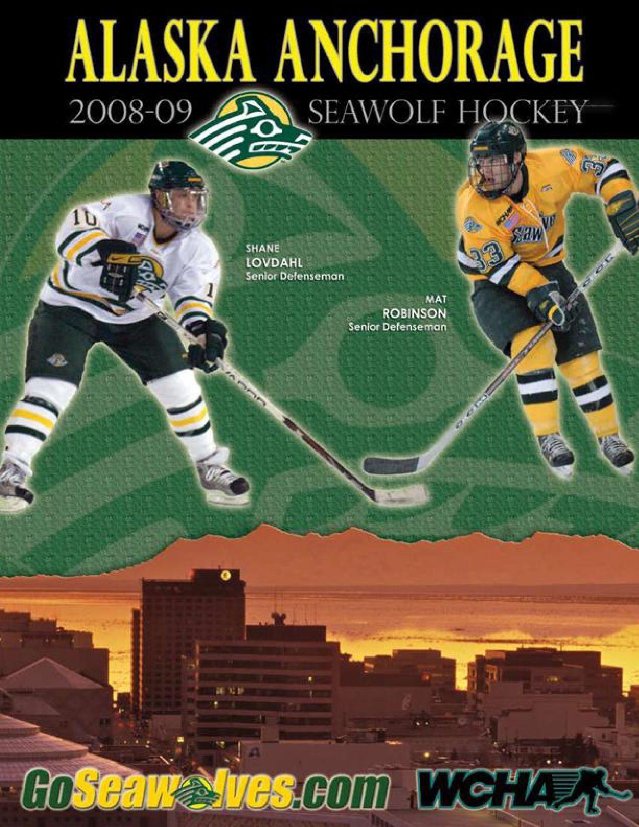 2008 09 Alaska Anchorage Hockey Media Guide By Nate Sagan Issuu Prevost Bus Wiring Ac Fan