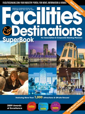 2009 Facilities And Destinations Superbook By Facilities Media Group