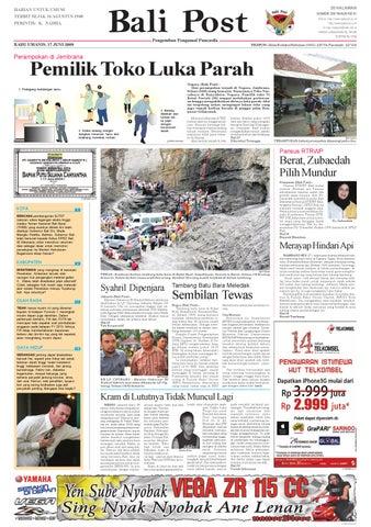 Bali Post Rabu 17 Juni 2009 By E Paper Kmb Issuu
