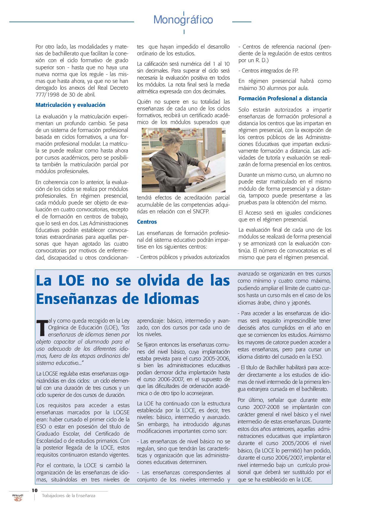Trabajadores De La Enseñanza De Fete Ugt Nº 81 By