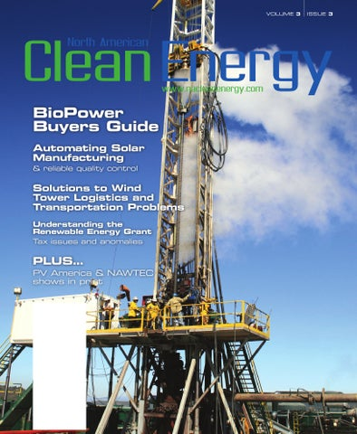 North American Clean Energy - May June 2009 by North