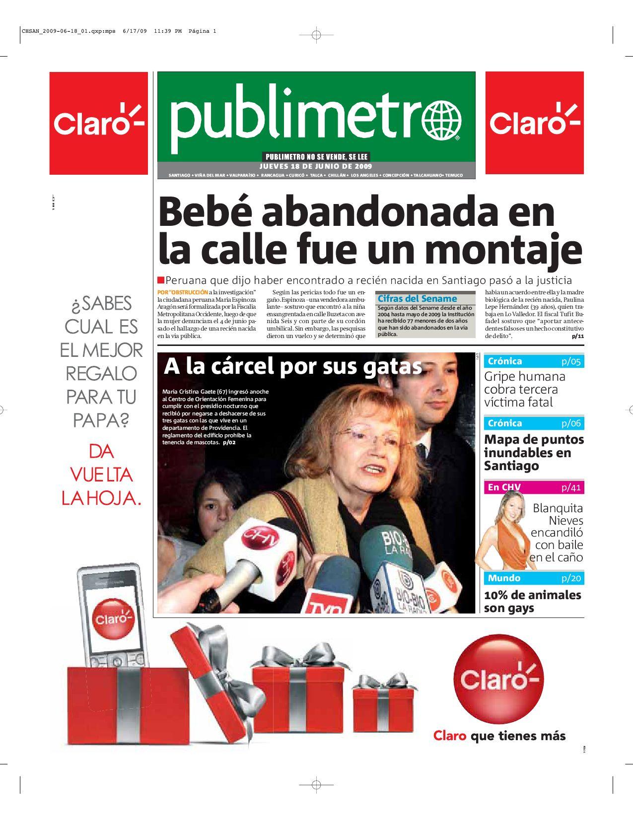 af96ceb120e04 http   www.readmetro.com media archive pdf 20090618 Santiago by Metro  International - issuu