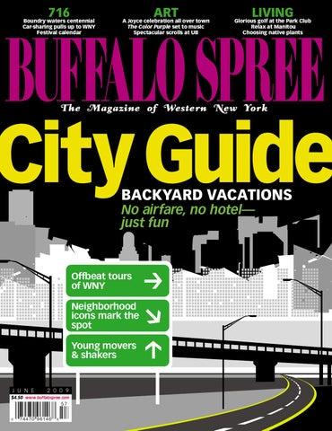 2d33cbf27c3c22 Buffalo Spree June 2009 by Buffalo Spree Publishing - issuu