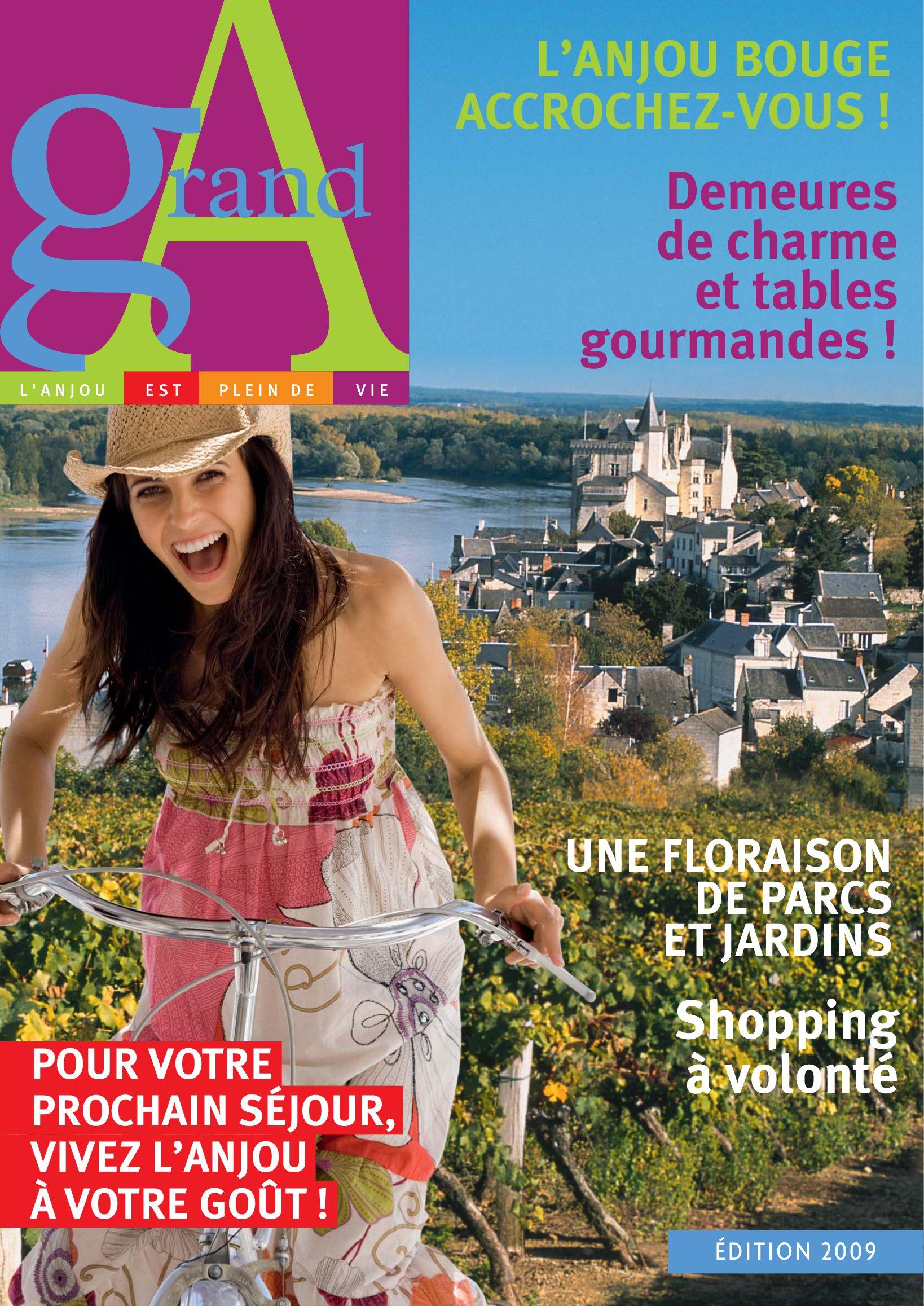 20064f621a8c30 Maine-et-Loire - Brochure by Frans Bureau voor Toerisme - issuu