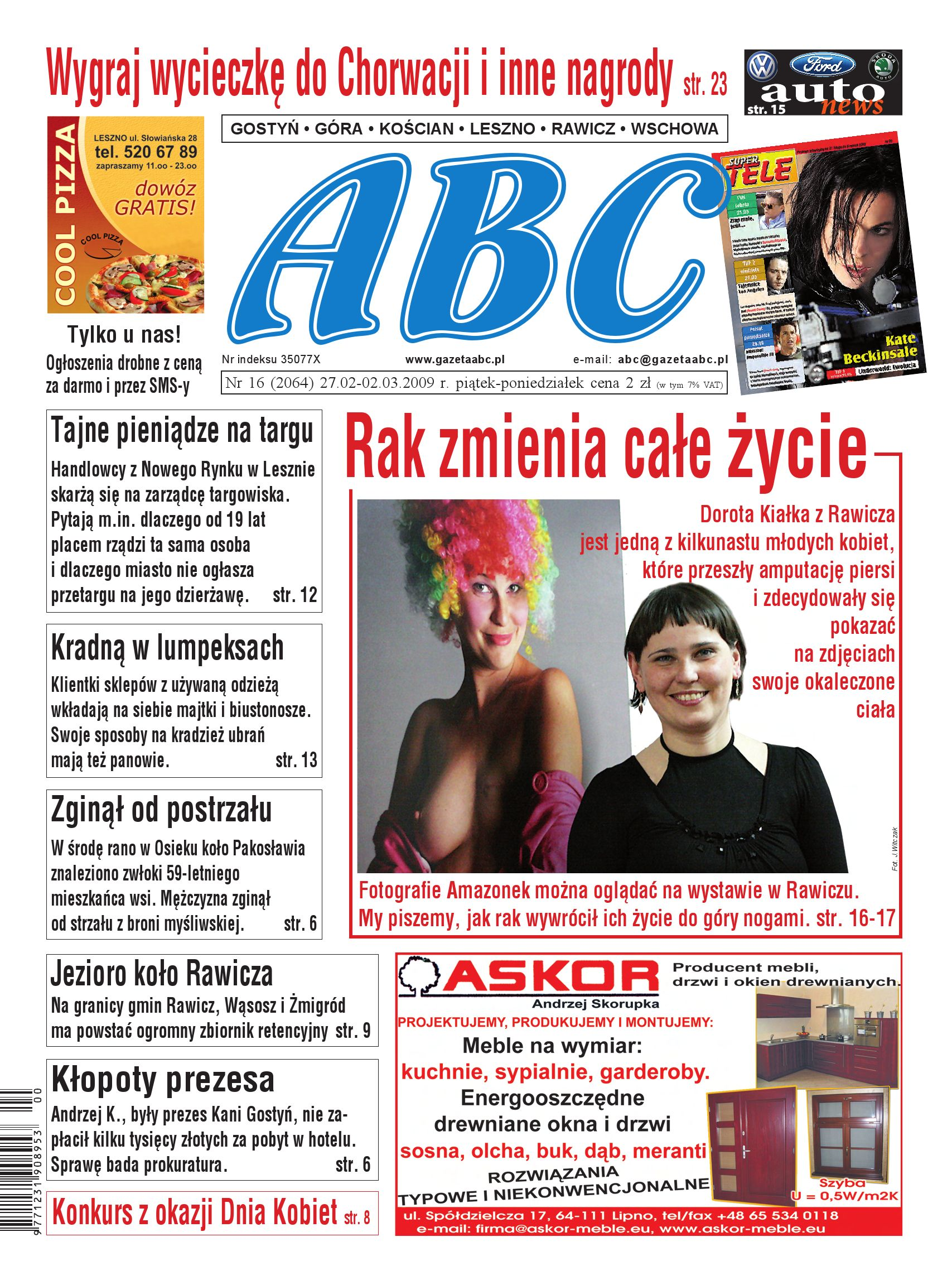 Gazeta Abc 27 Lutego 2009 By Sekretarz Redakcji Issuu