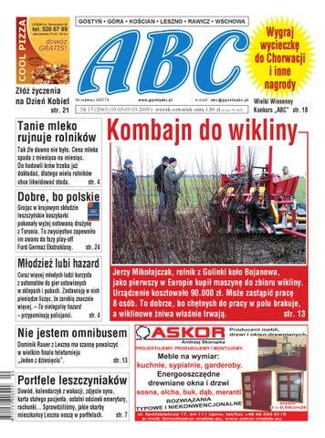 Gazeta Abc 3 Marca 2009 By Sekretarz Redakcji Issuu