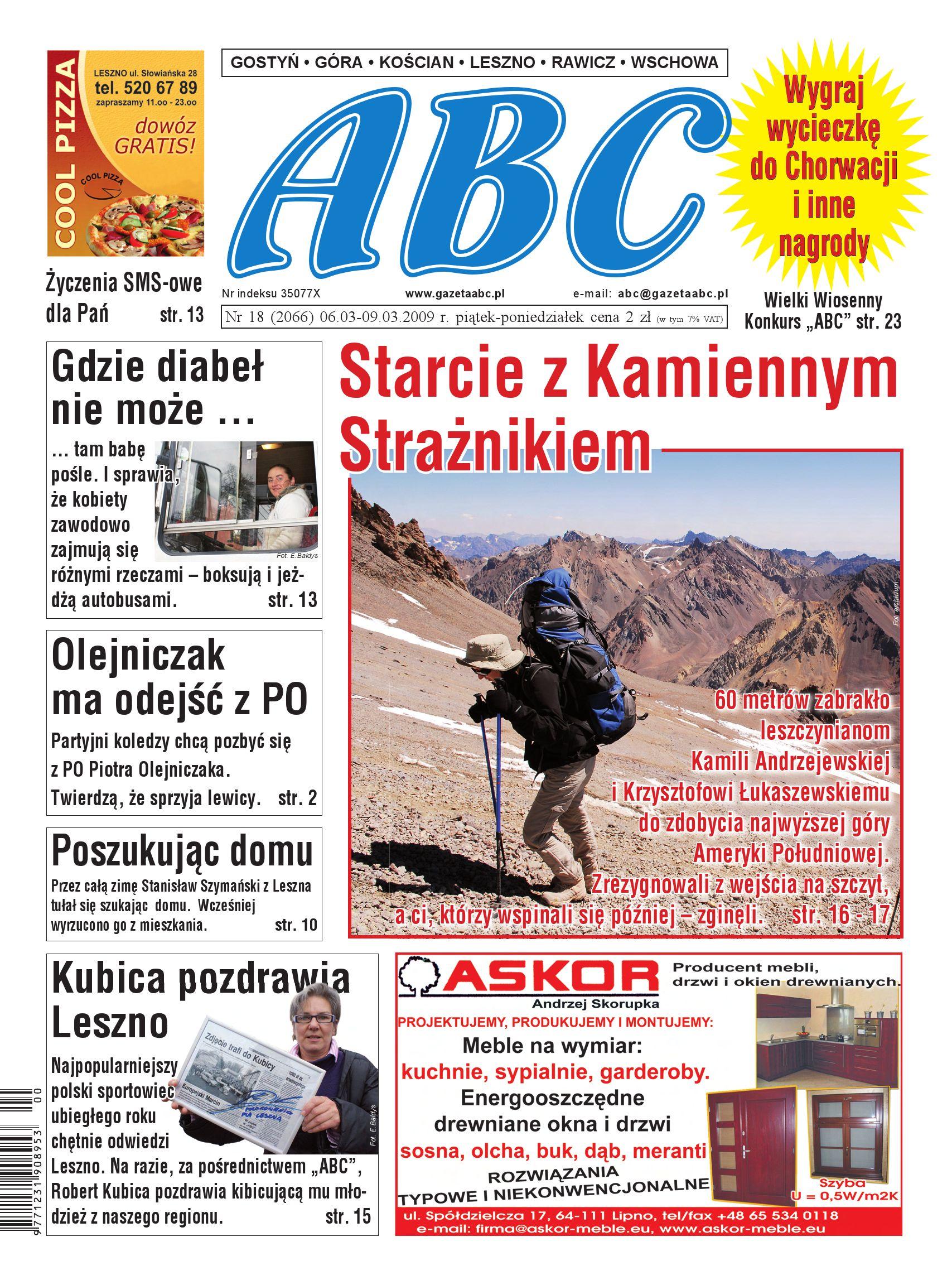 Gazeta Abc 6 Marca 2009 By Sekretarz Redakcji Issuu