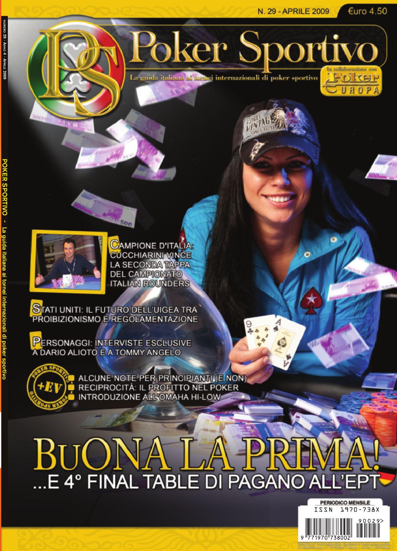 Poker sportivo rivista online gambling casino australia