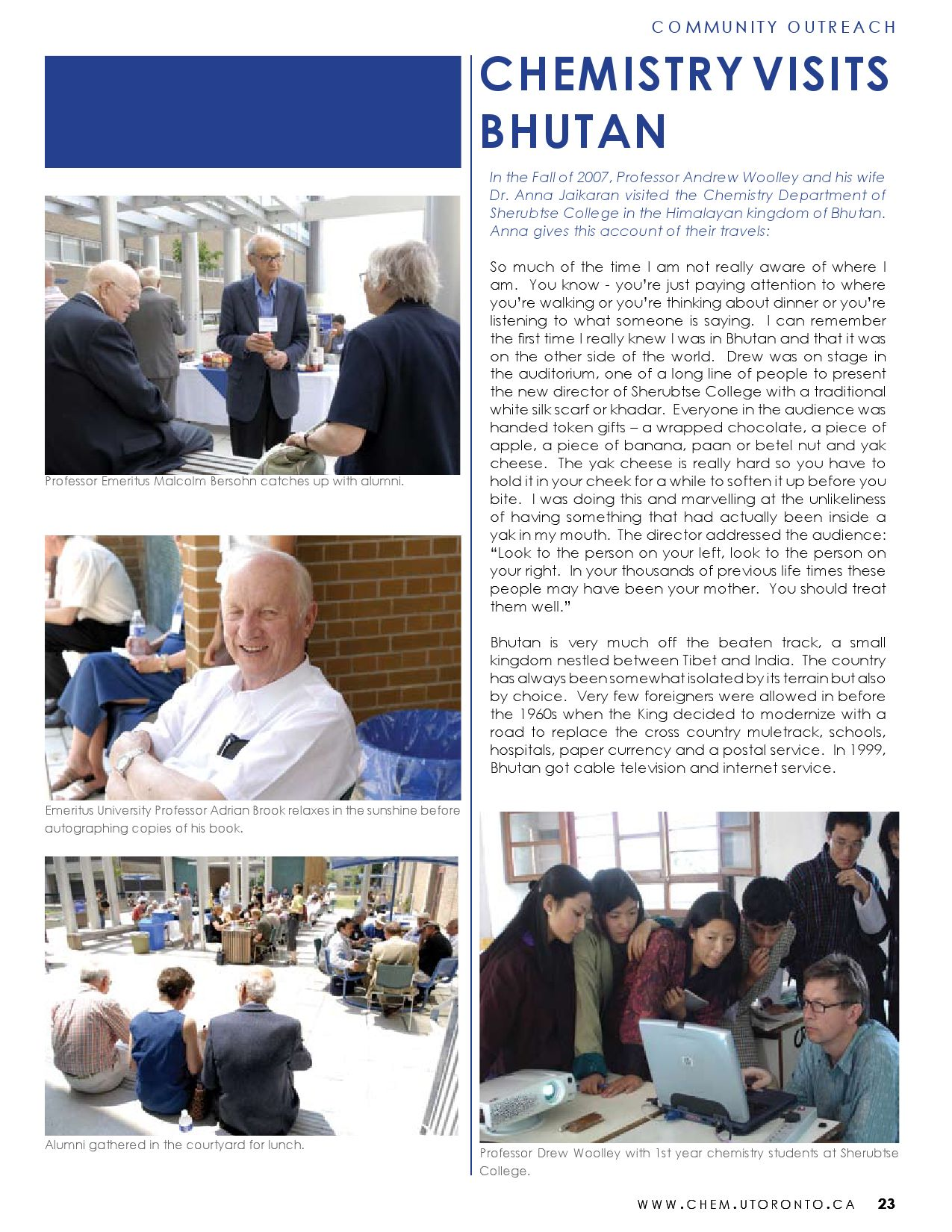 2007-08 Distillations Alumni Magazine by University of